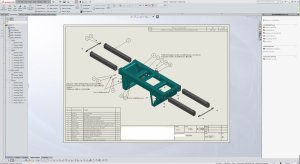 SolidWorks - drafting and designing